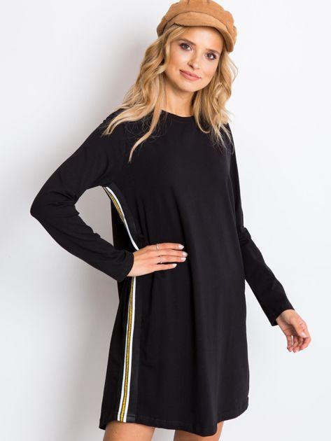 Czarna sukienka Temple                              zdj.                              5