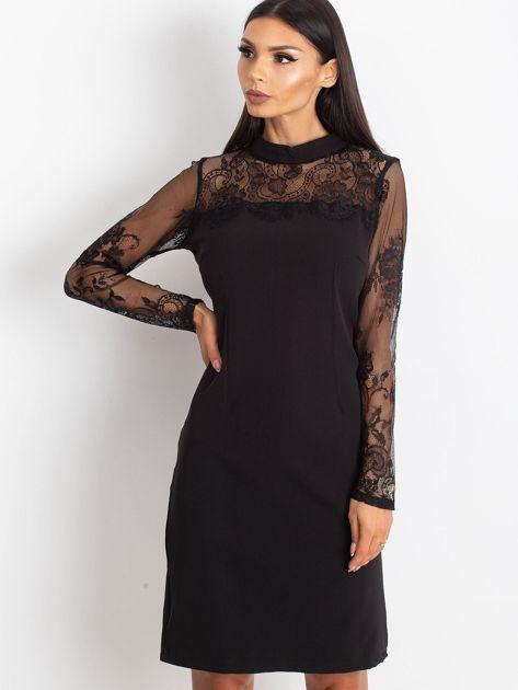 Czarna sukienka Time                              zdj.                              1