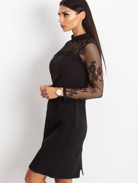 Czarna sukienka Time                              zdj.                              3