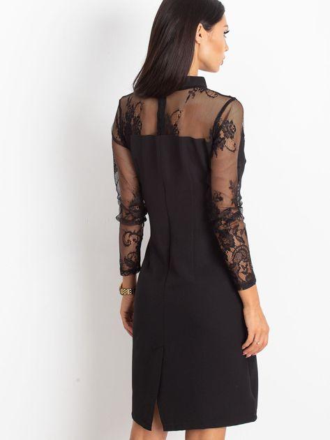 Czarna sukienka Time                              zdj.                              2