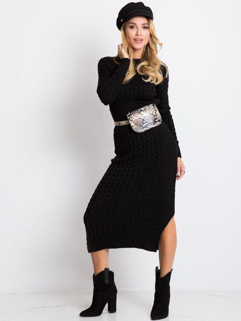 Czarna sukienka Travel                              zdj.                              1
