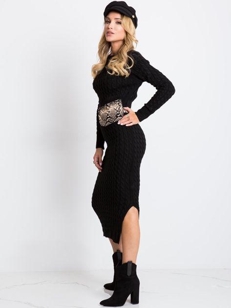 Czarna sukienka Travel                              zdj.                              4