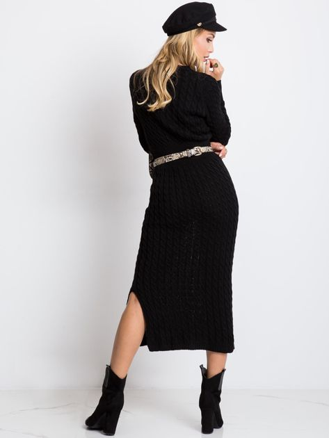 Czarna sukienka Travel                              zdj.                              2