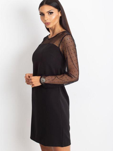 Czarna sukienka Vanity                              zdj.                              2