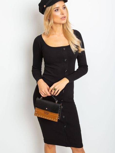 Czarna sukienka Wild                              zdj.                              1