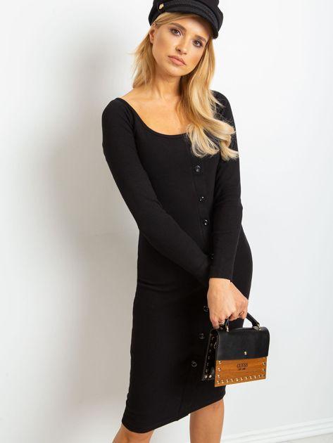 Czarna sukienka Wild                              zdj.                              3