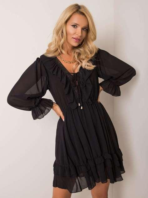 Czarna sukienka Winona OCH BELLA