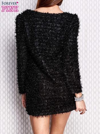 Czarna sukienka fluffy                                   zdj.                                  4