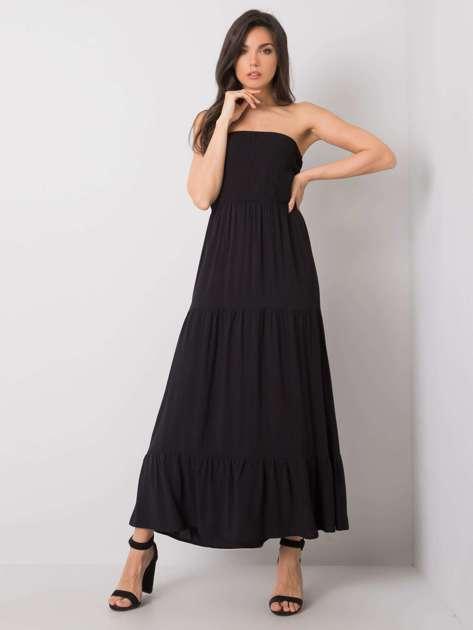 Czarna sukienka maxi Giuseppina FRESH MADE