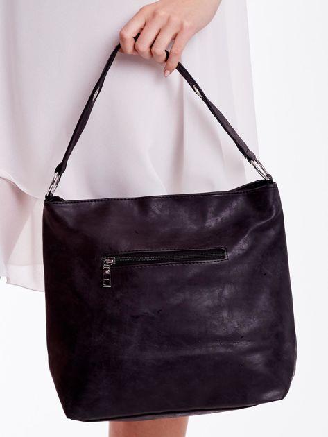Czarna torba z łańcuszkiem                              zdj.                              7