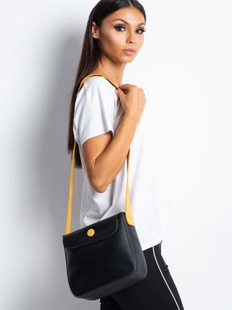 Czarna torebka na ramię                              zdj.                              6