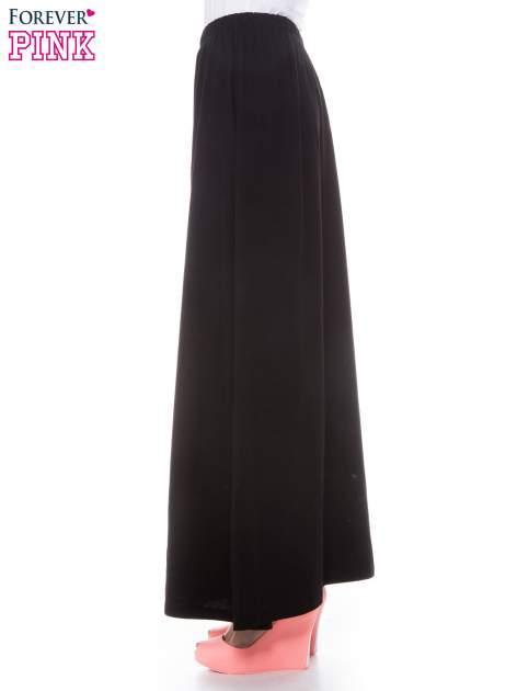 Czarna zwiewna spódnica maxi                                  zdj.                                  2