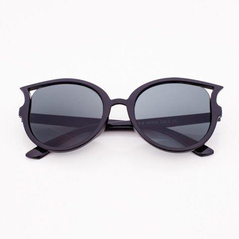 Czarne Dziecięce Okulary przeciwsłoneczne KOTY                              zdj.                              1