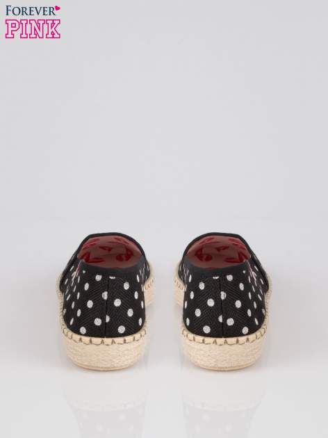 Czarne espadryle Willow Kiss w groszki                                  zdj.                                  3