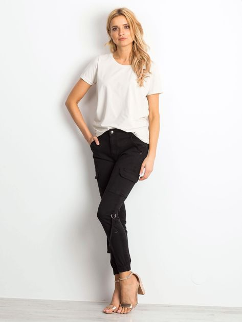 Czarne jeansy Remember                              zdj.                              4