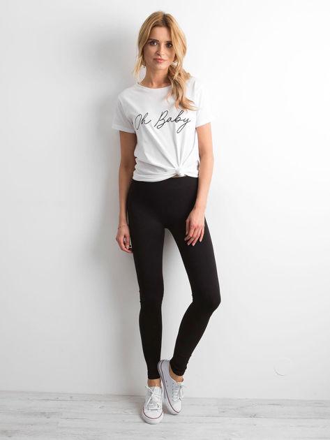 Czarne legginsy Basic                              zdj.                              4