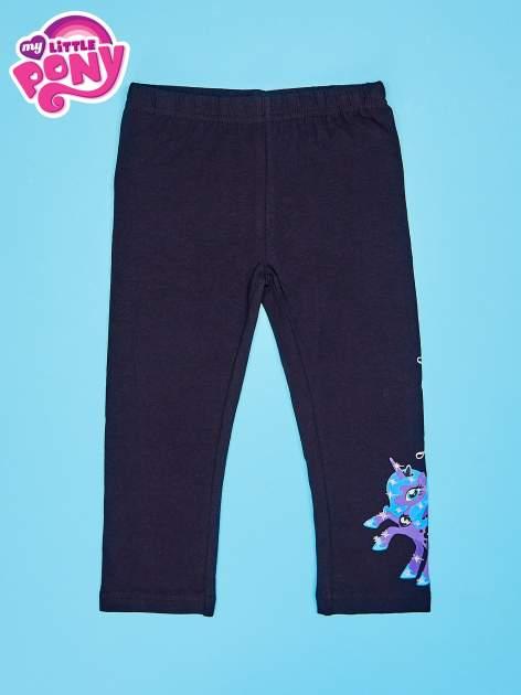 Czarne legginsy dla dziewczynki MY LITTLE PONY                                   zdj.                                  1