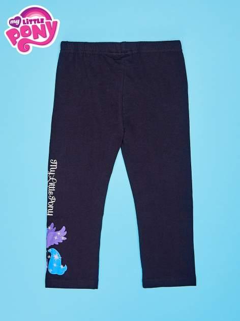 Czarne legginsy dla dziewczynki MY LITTLE PONY                                   zdj.                                  2
