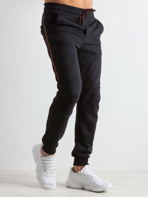 Czarne męskie dresy Simplicity                              zdj.                              3