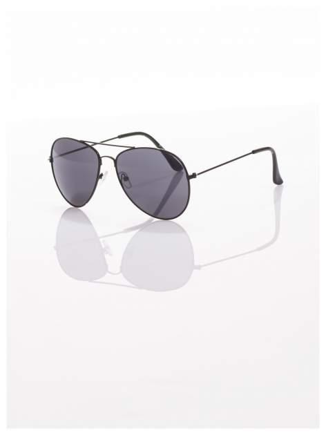 Czarne okulary przeciwsłoneczne pilotki  AVIATORY                                   zdj.                                  1
