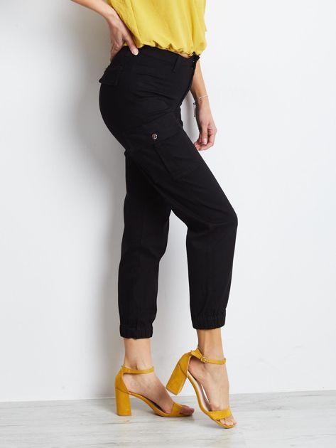 Czarne spodnie Carbonee                              zdj.                              1