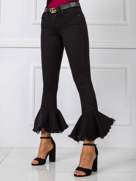 Czarne spodnie Gerome RUE PARIS