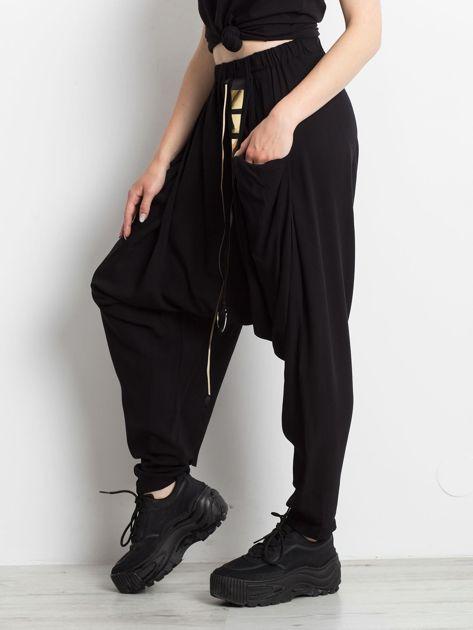 Czarne spodnie Holder                              zdj.                              3