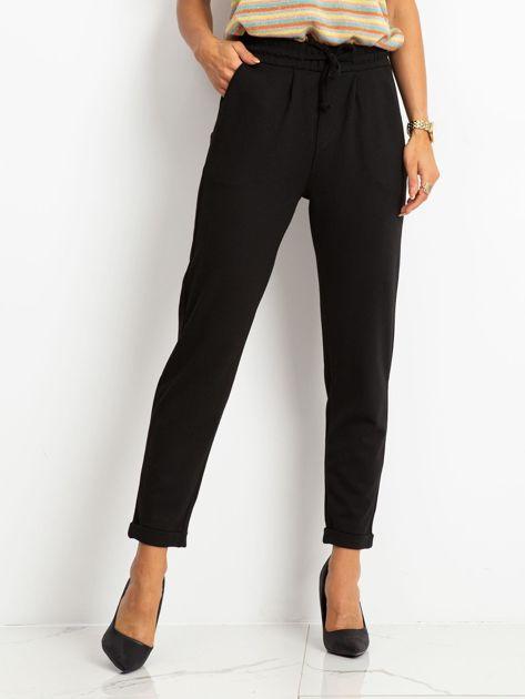 Czarne spodnie Journee                              zdj.                              1