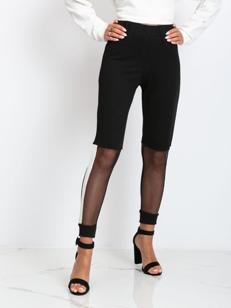 Czarne spodnie Melody                              zdj.                              1