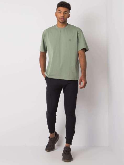 Czarne spodnie dresowe męskie Bryson