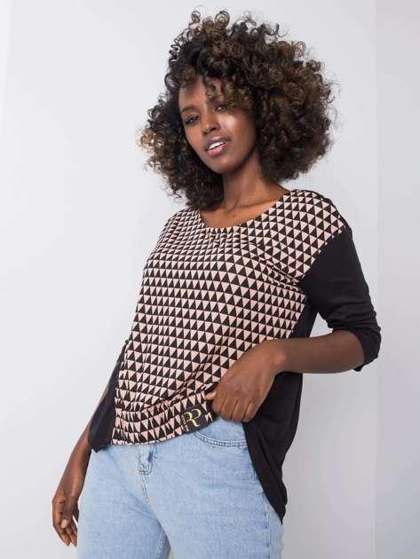 Czarno-beżowa bluzka Milana RUE PARIS