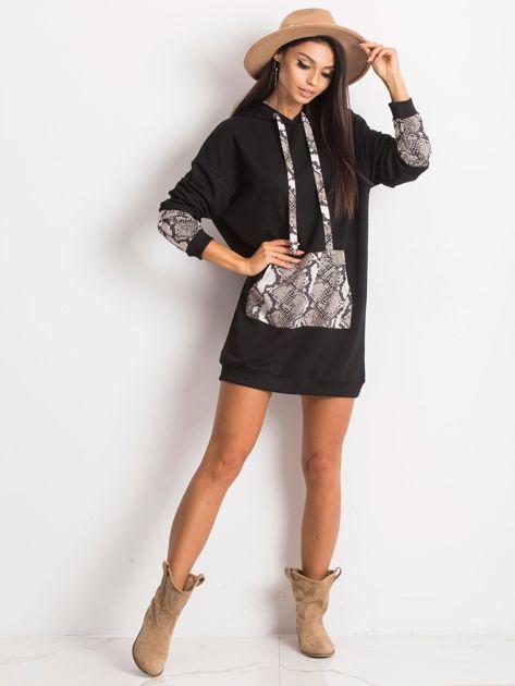 Czarno-beżowa sukienka Sierra                              zdj.                              4