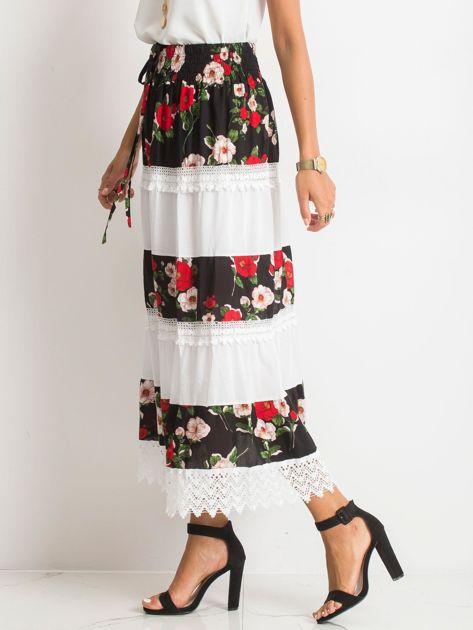 Czarno-biała spódnica Breakout                              zdj.                              3