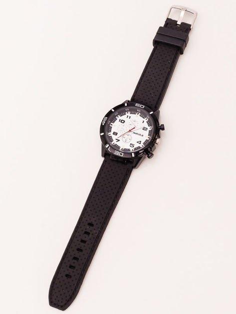 Czarno-biały zegarek męski                               zdj.                              2