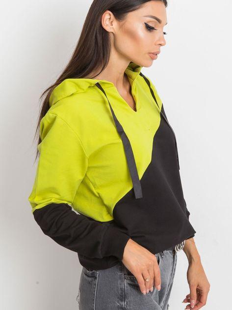 Czarno-zielona bluza Havana                              zdj.                              3