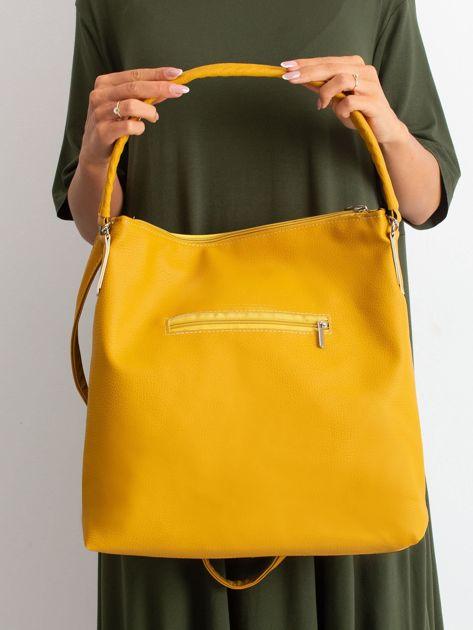 Czarno-żółta torba miejska                              zdj.                              5