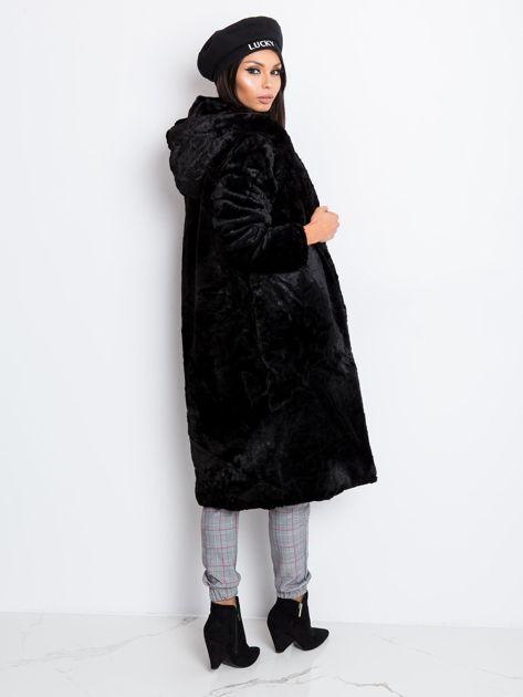 Czarny płaszcz Mallory                              zdj.                              2