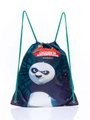 Czarny plecak worek DISNEY Kung Fu Panda