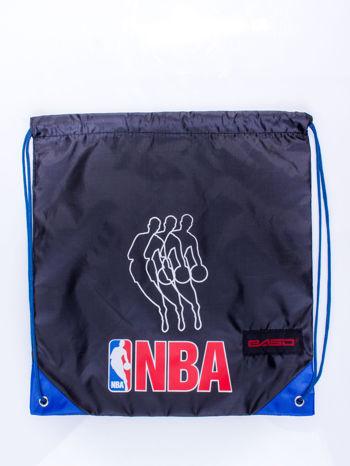 Czarny plecak worek DISNEY sportowy NBA                                  zdj.                                  3
