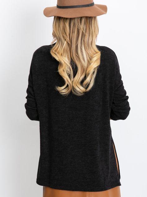 Czarny sweter Couple                              zdj.                              2