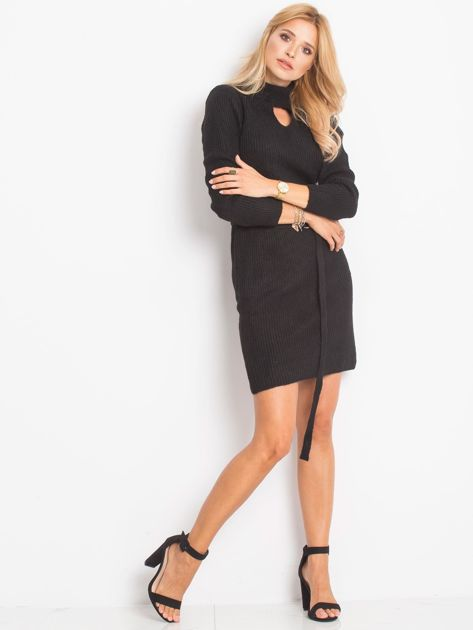 Czarny sukienka Malta                              zdj.                              4