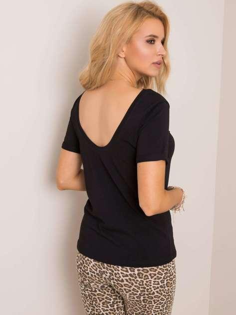 Czarny t-shirt Lucie