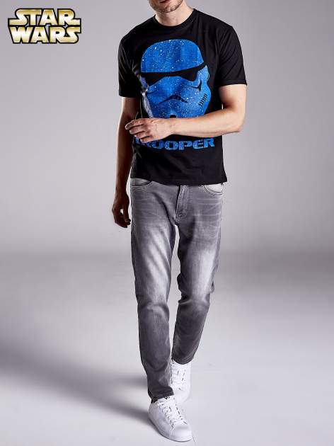 Czarny t-shirt męski STAR WARS                                  zdj.                                  8