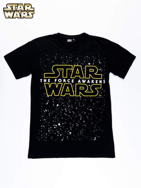 Czarny t-shirt męski motyw STAR WARS                                  zdj.                                  10