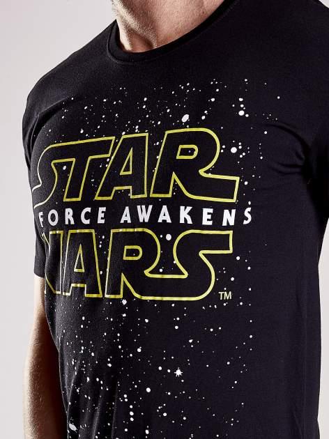 Czarny t-shirt męski motyw STAR WARS                                  zdj.                                  8