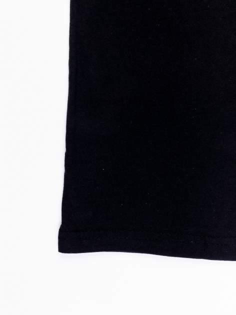 Czarny t-shirt męski z nadrukiem STAR WARS                                  zdj.                                  13