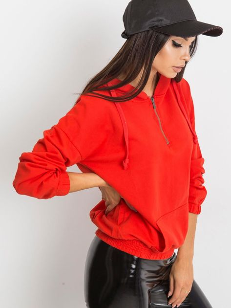 Czerwona bluza Kimmie                              zdj.                              1