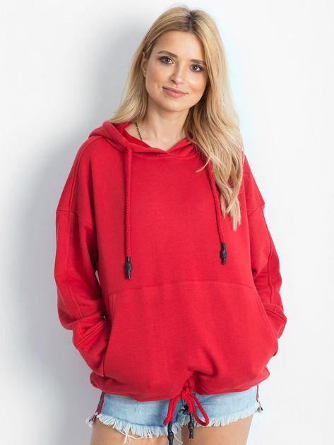 Czerwona bluza Replicating                              zdj.                              5