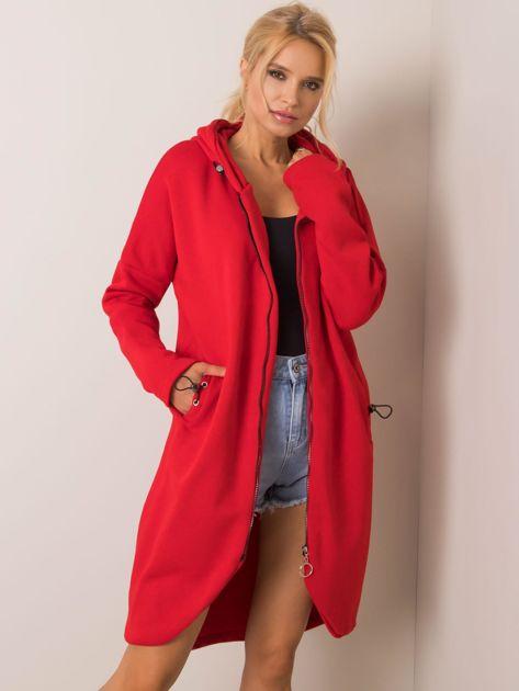 Czerwona bluza Tina RUE PARIS