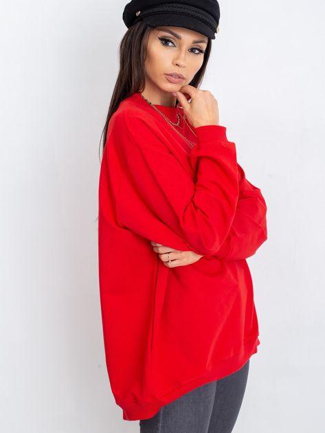 Czerwona bluza Twist                              zdj.                              7